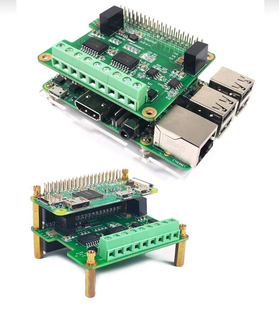 RS485 and CAN Module for Raspberry Pi | RPI|Design|HIFI|CAN