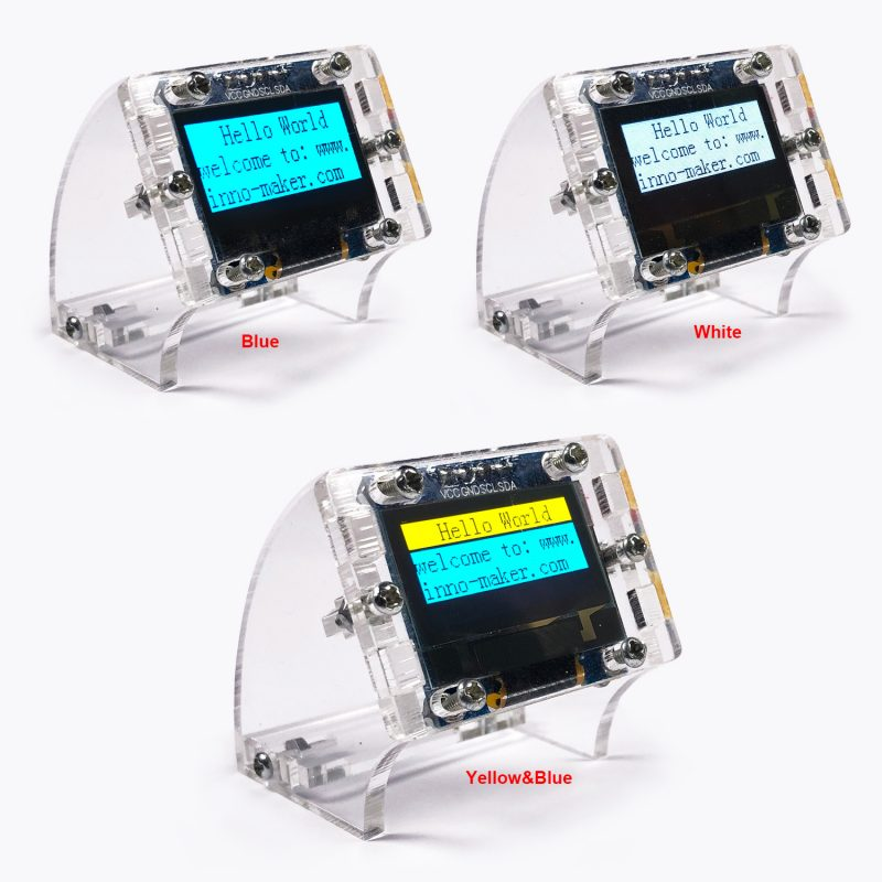 0.96 Inch I2C Serial 128x64 OLED Display