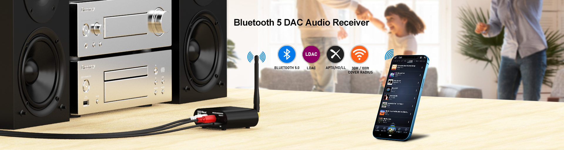 Bluetooth_Audio_Receiver_Home_Stereo
